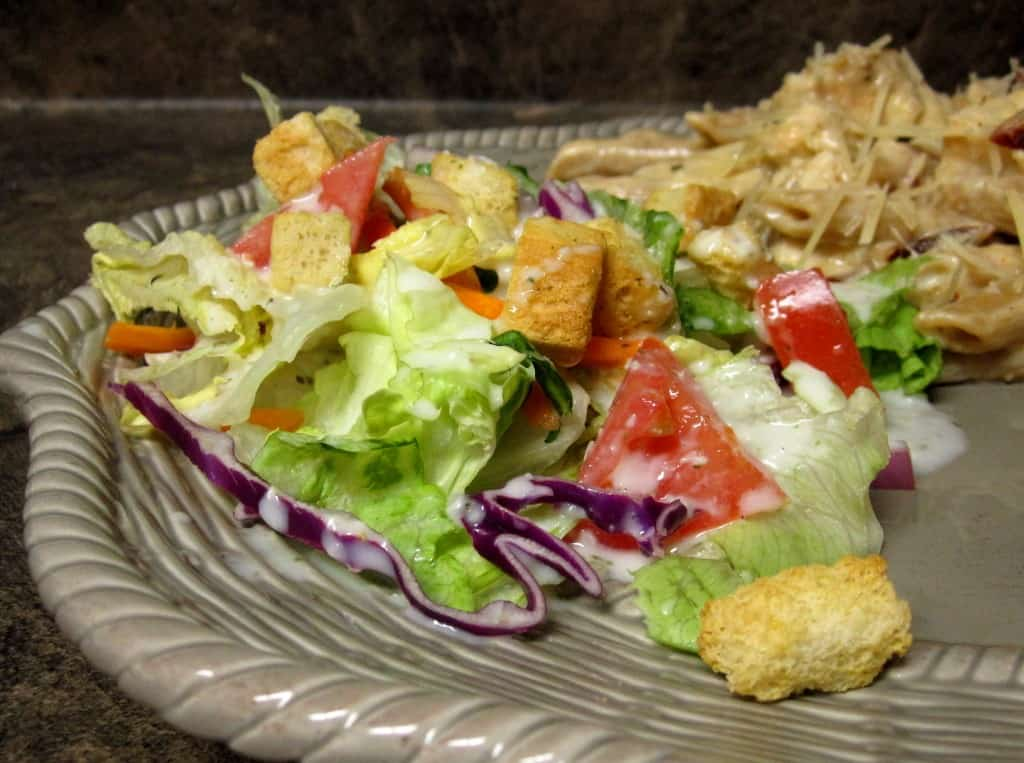 Homemade Olive Garden Salad And Dressing The Spiffy Cookie