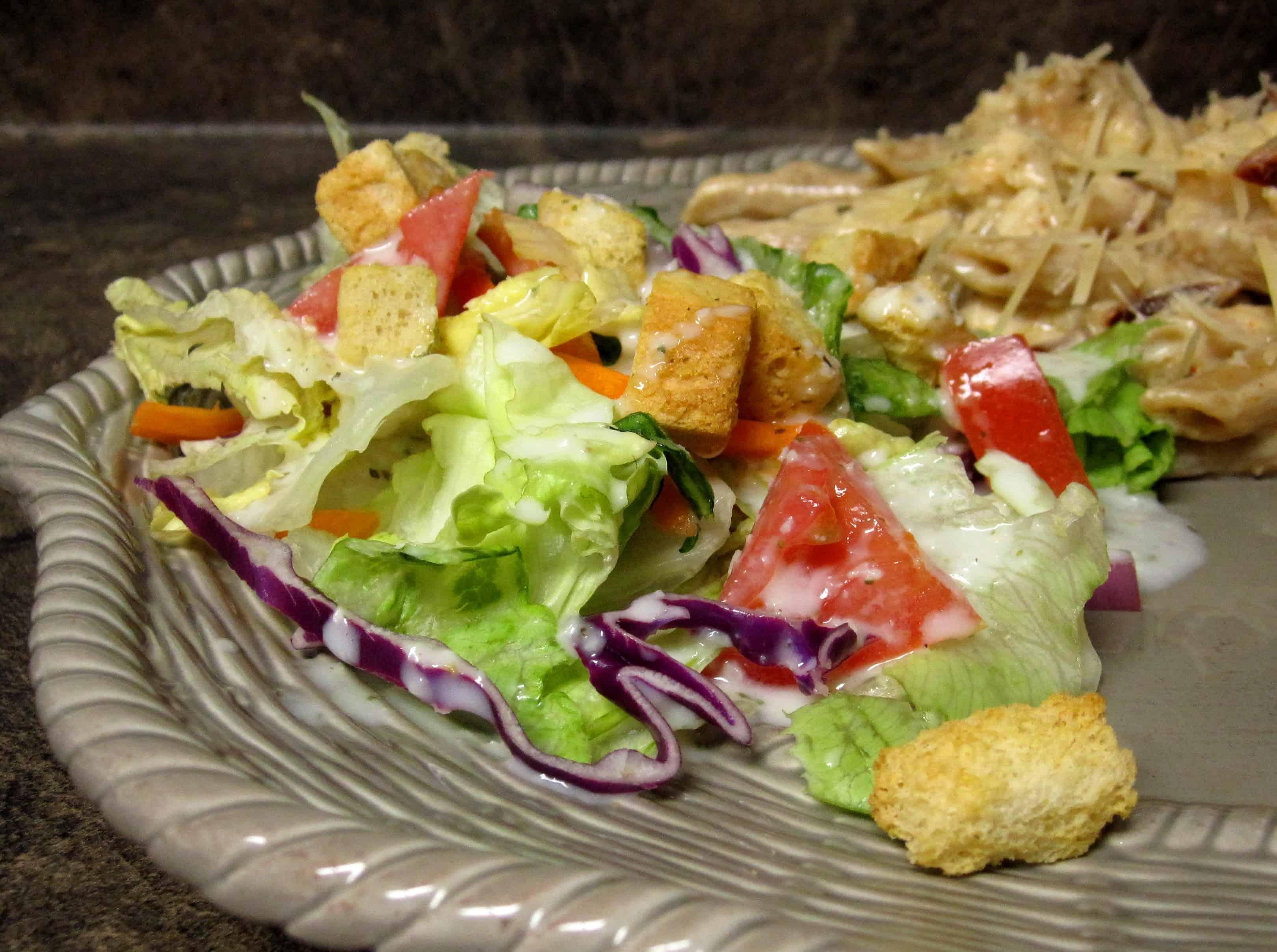 dressing - Vegan Options At Olive Garden