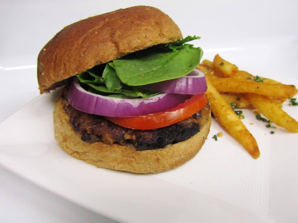 Eggplant Veggie Burgers | The Spiffy Cookie