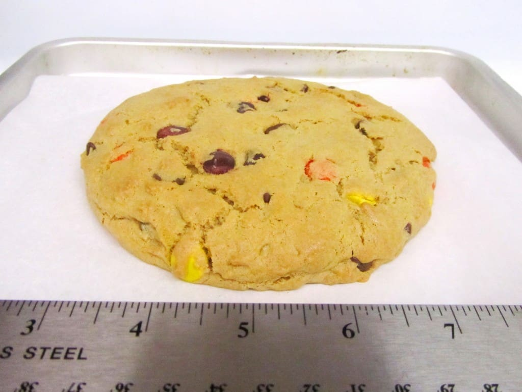 Peanut Butter Reeses Pieces Giant Cookie for One (FAGE Good Living ...