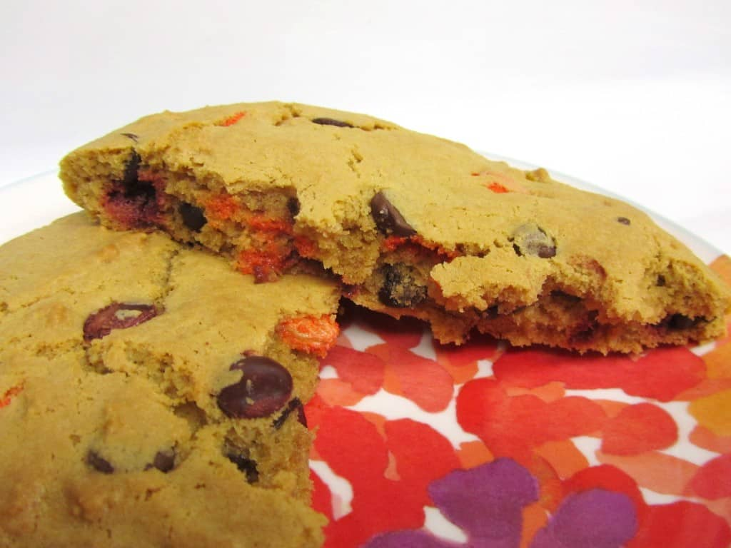 Peanut Butter Reeses Pieces Giant Cookie for One (FAGE ...