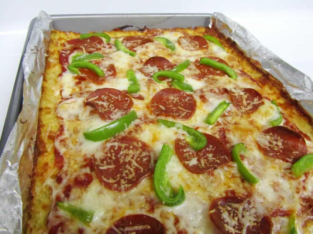 Cauliflower Pizza Crust (FAGE Good Living Part III)   The ...