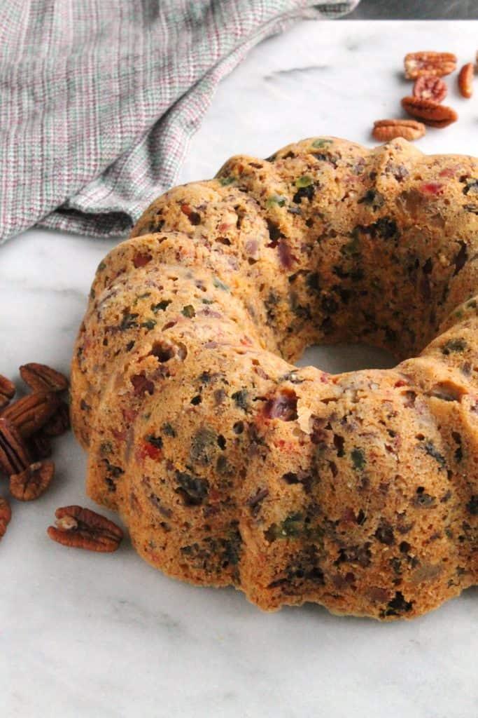 Pecan Fruit Cake 1