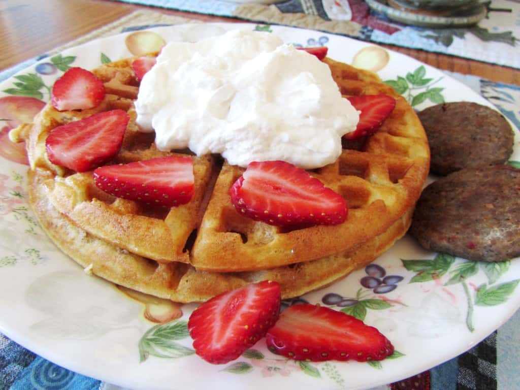 Buttermilk Pecan Waffles The Spiffy Cookie