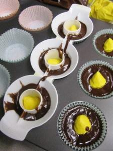 Hidden Pot of Gold Cupcakes 1