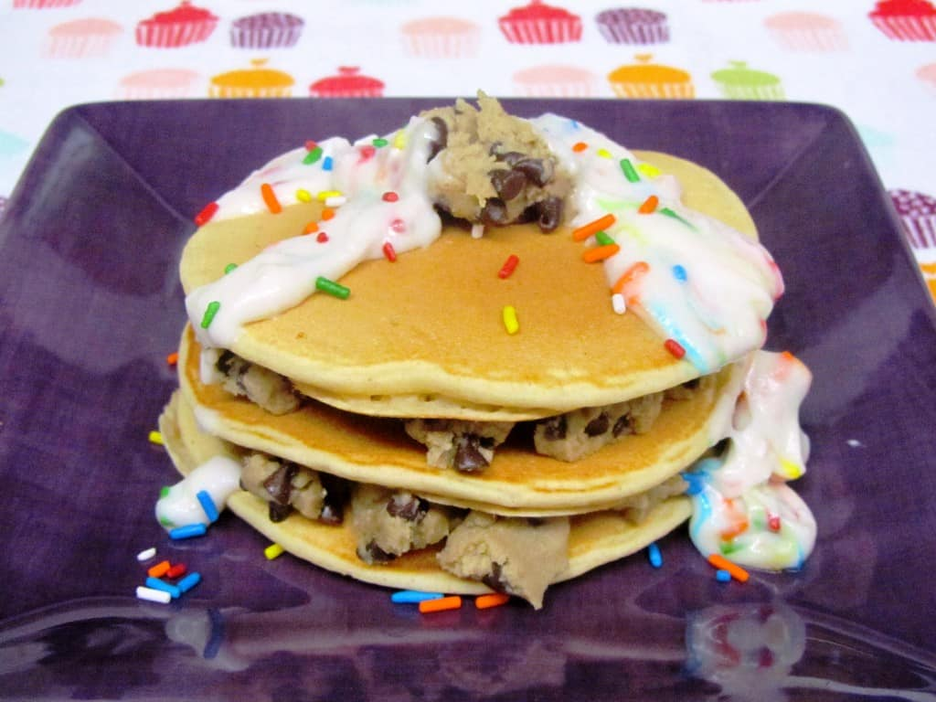 Birthday Overload Pancakes The Spiffy Cookie