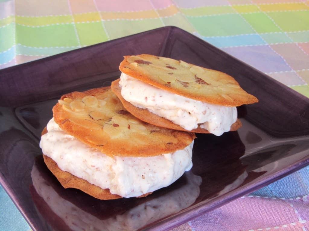 Good n Nutty Ice Cream Sandwiches