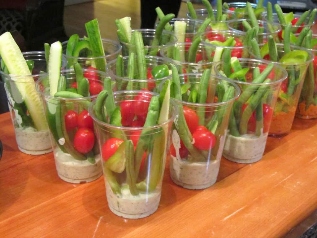 Veggie Dip Cups 1