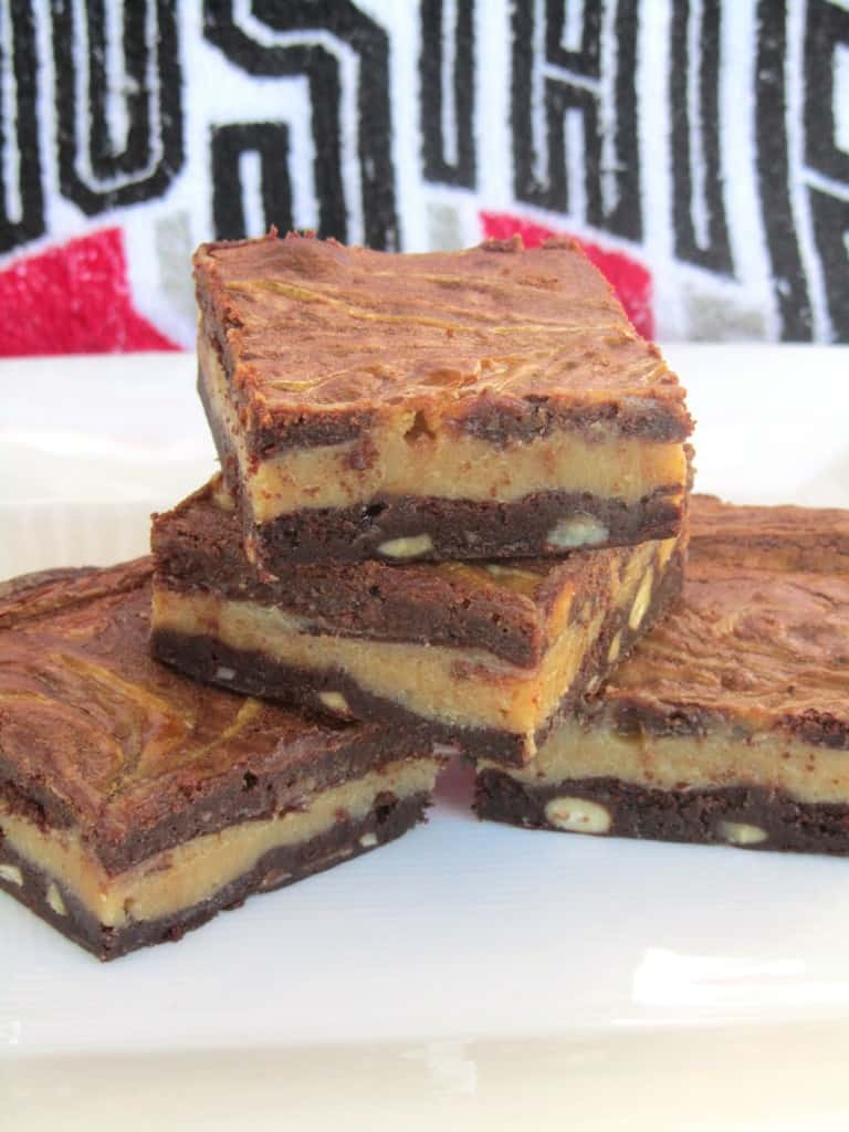 Gluten-Free Buckeye Brownies