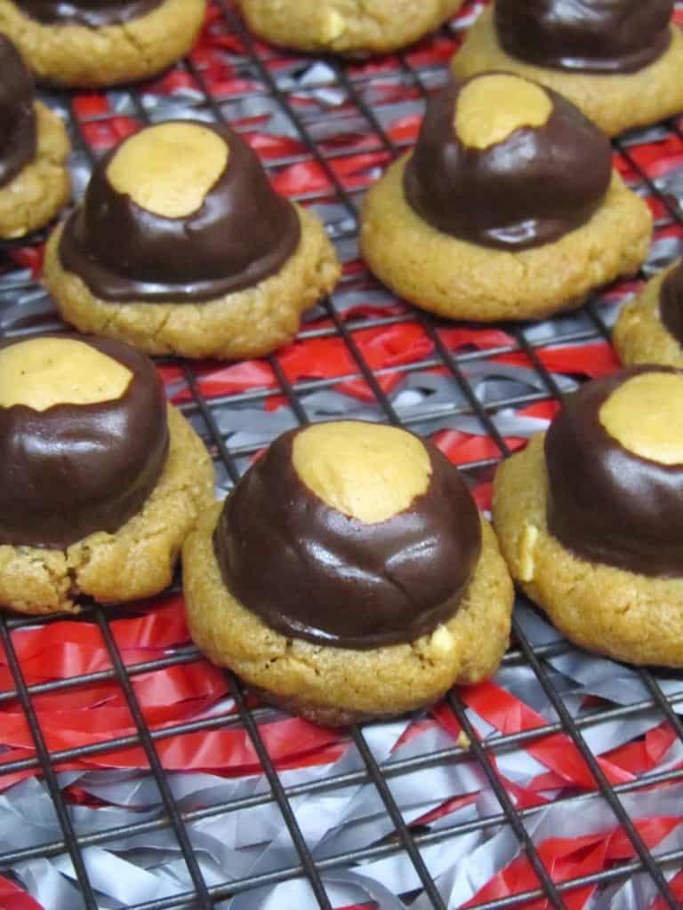 Buckeye Blossom Cookies 2