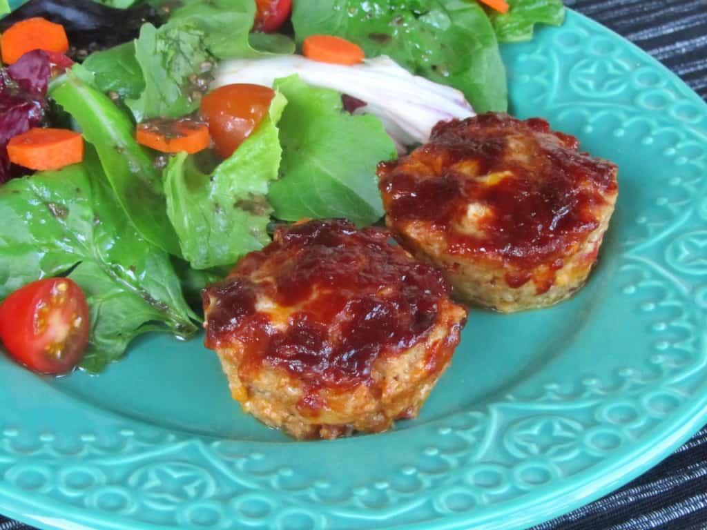 Cheddar-BBQ Turkey Meatloaf Muffins 2