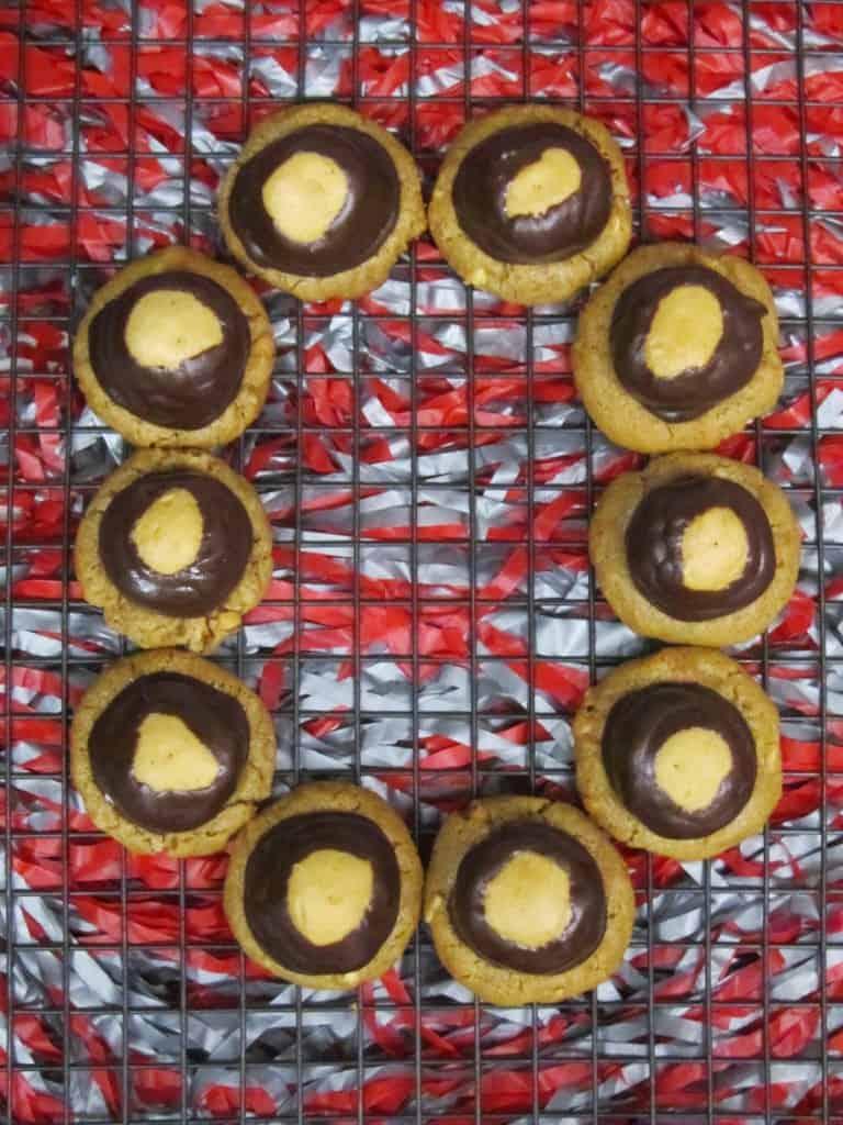 Buckeye Blossom Cookies 1