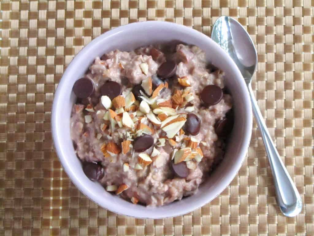 Overnight, Slow Cooker Ice Cream Oatmeal 2