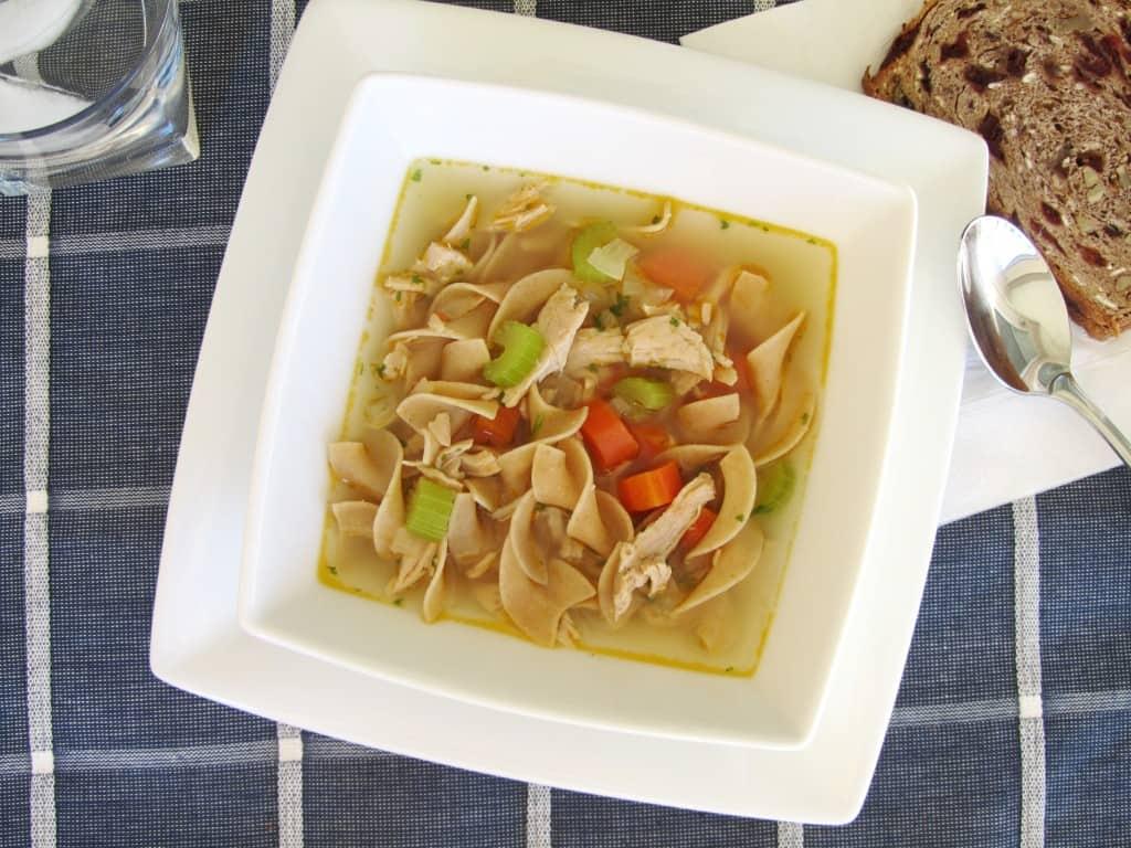 Quick Turkey Noodle Soup