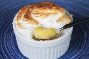 Lemon Curd Meringues