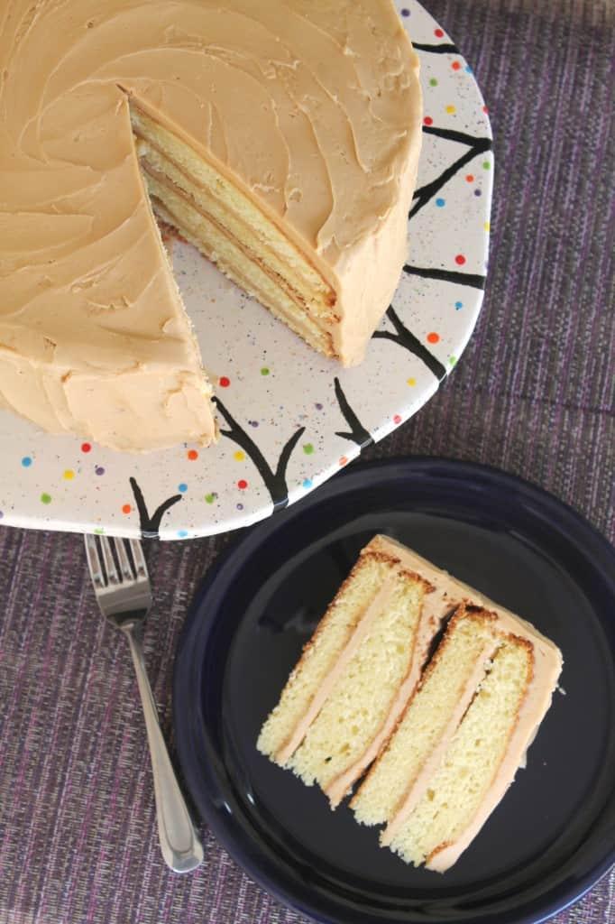 Southern Caramel Cake 1