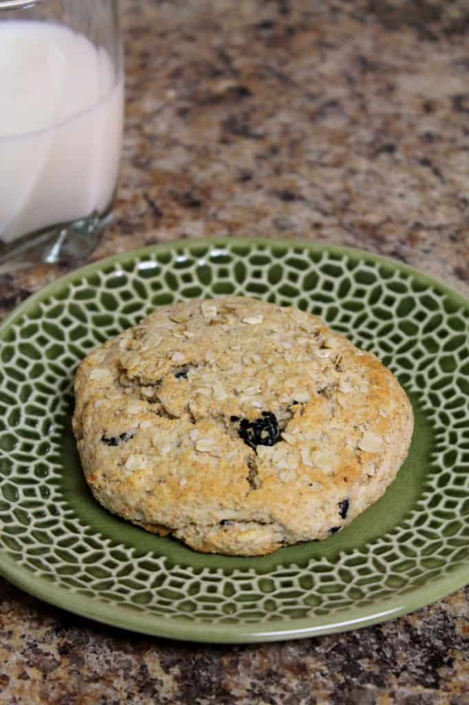 Whole Wheat Scone for One 1