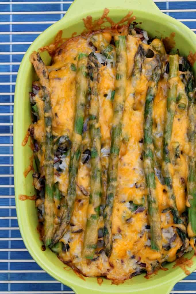 Asparagus & Wild Rice Casserole 1