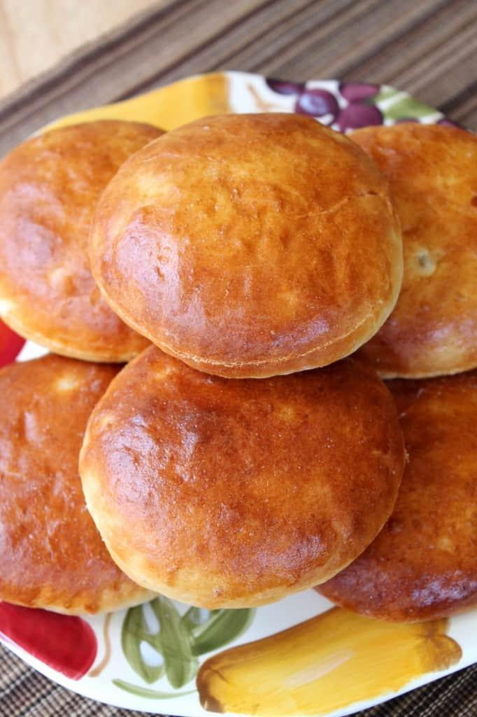 Potato Burger Buns | The Spiffy Cookie