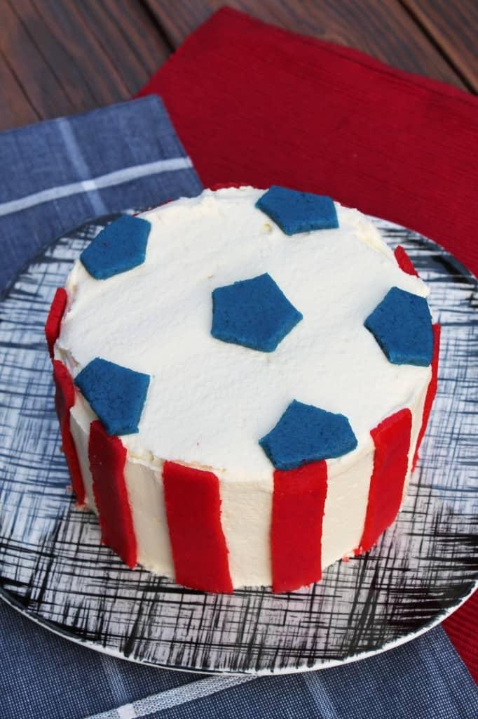 USA Soccer Cake 1