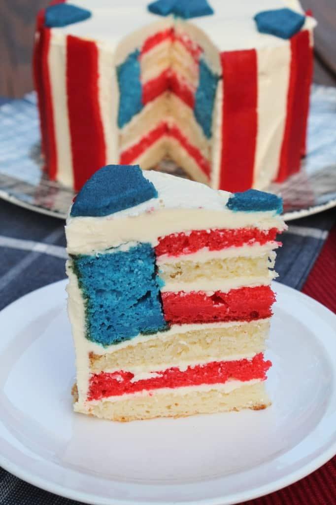 USA Soccer Cake 2