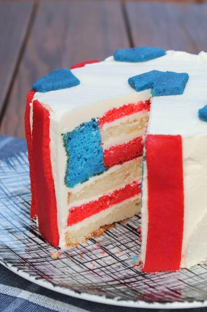 USA Soccer Cake 3