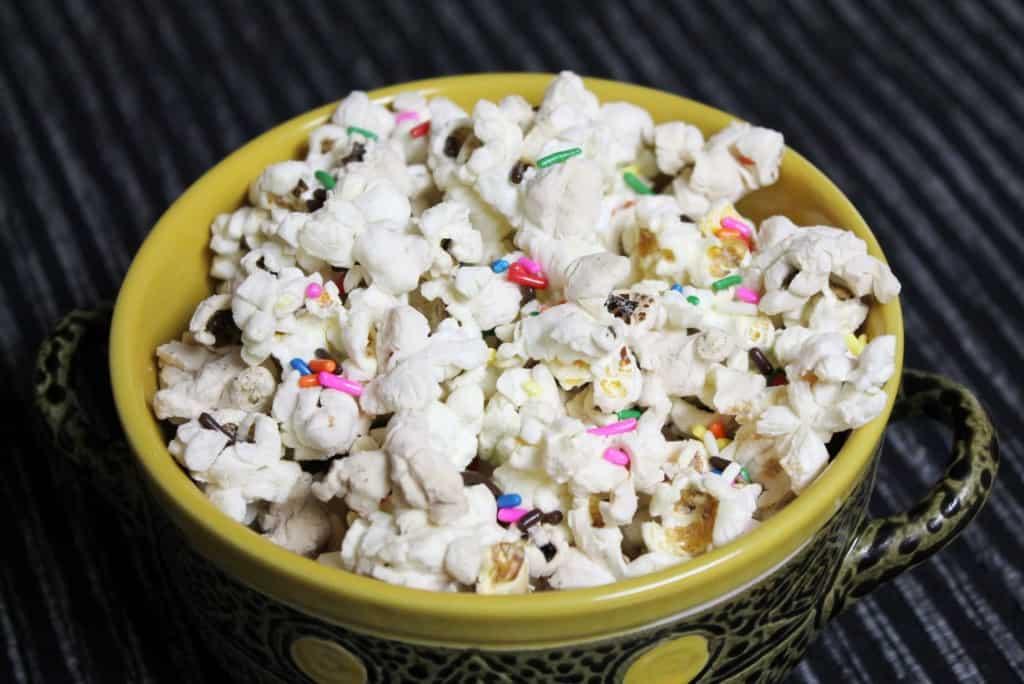Single Serving Cake Batter Popcorn 1