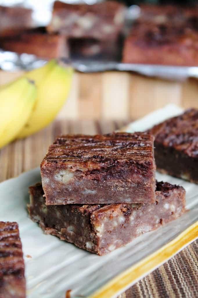 Banana Bread Brownies 1