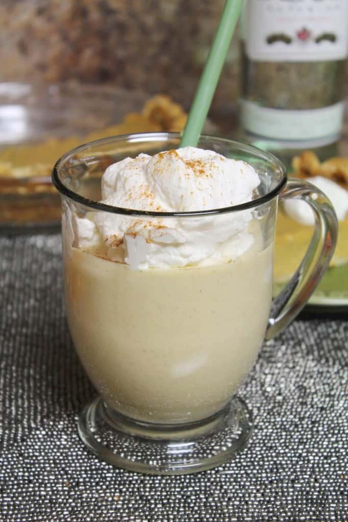 Boozy Pumpkin Pie Milkshake 2