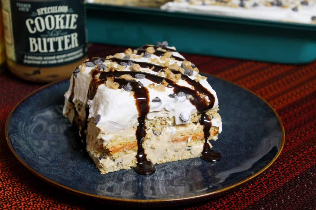 speculoos pumpkin spice oreo lasagna the spiffy cookie