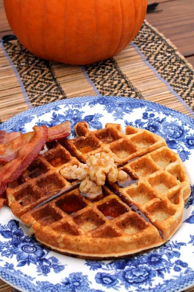Pumpkin Pecan Waffles 2
