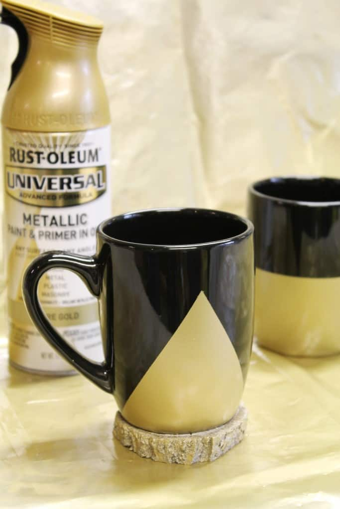 DIY Painted Mugs 2