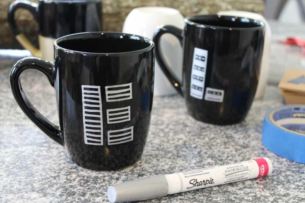 DIY Painted Mugs 4