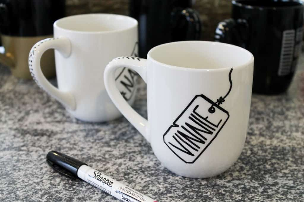 Diy painted mugs images for How to paint a mug