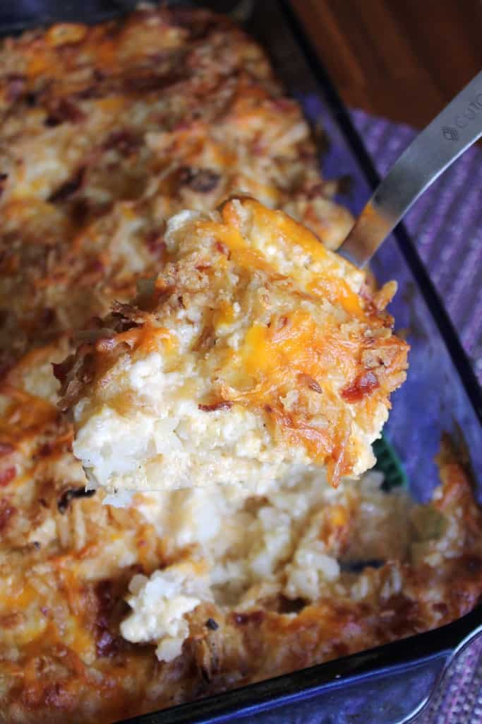 Cheesy Tater Tot Casserole The Spiffy Cookie