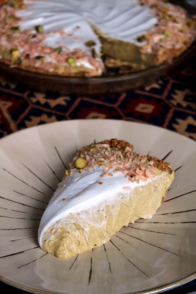Coconut-Pistachio Pie 2