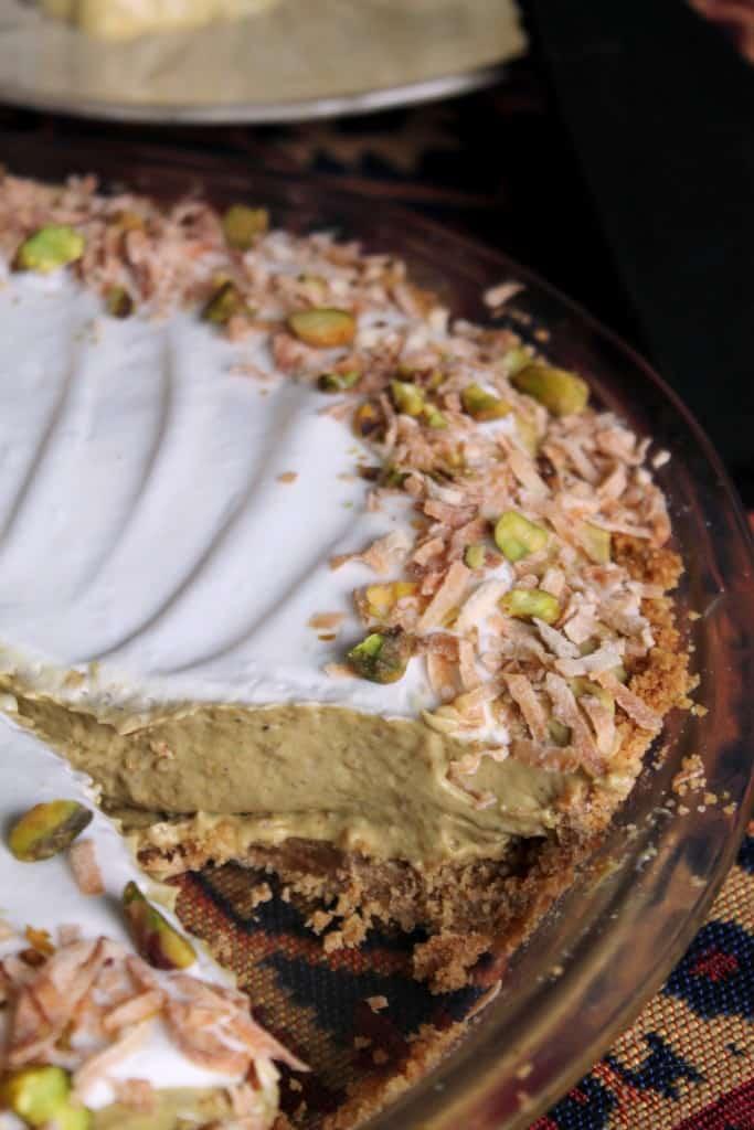 Coconut-Pistachio Pie 3