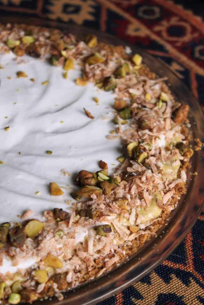 Coconut-Pistachio Pie 4