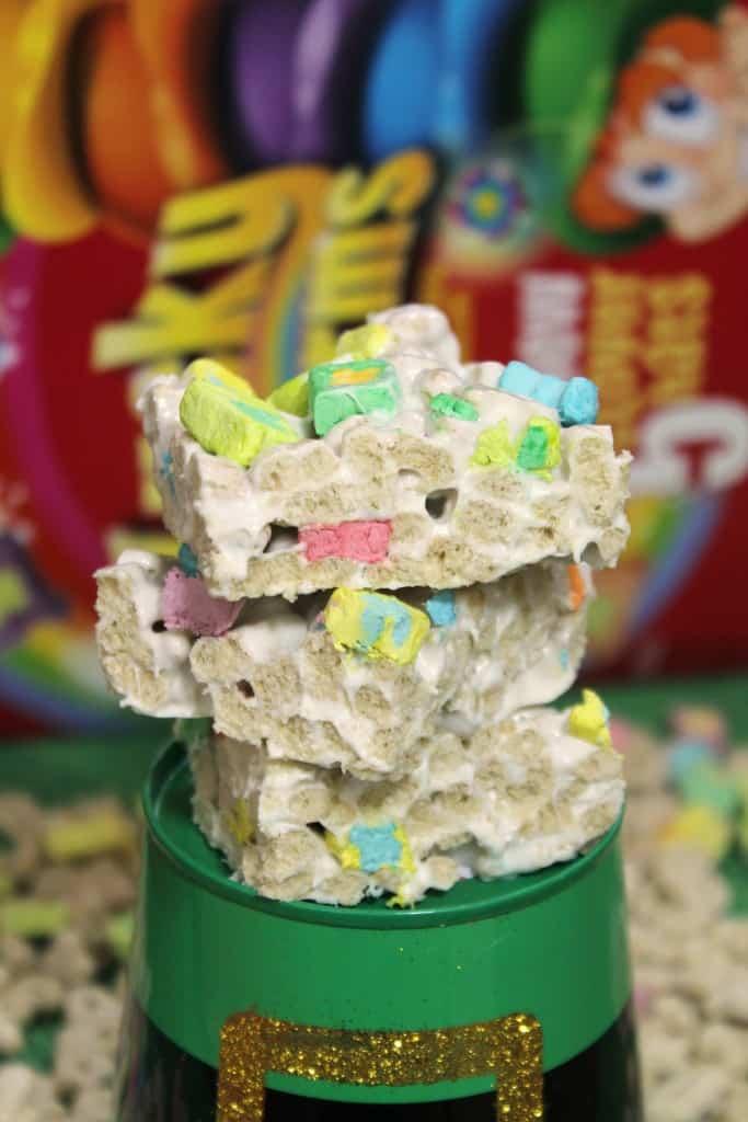 Lucky Charms Marshmallow Crispy Treats 1