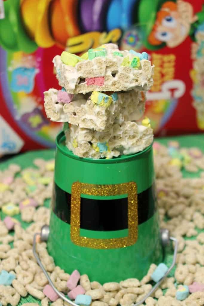 Lucky Charms Marshmallow Crispy Treats 2