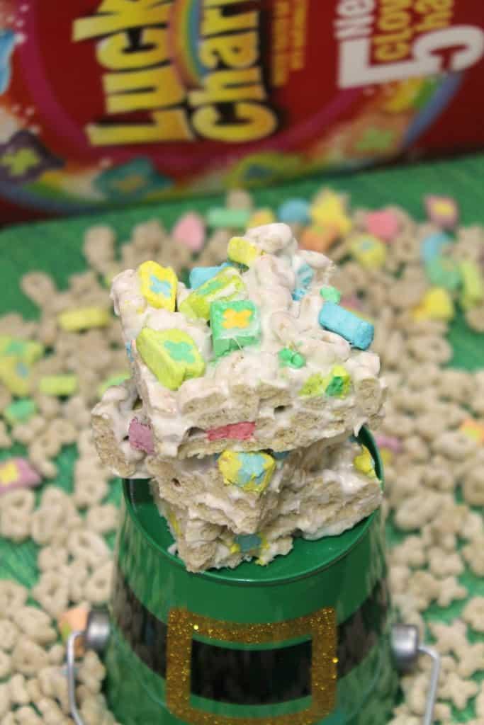 Lucky Charms Marshmallow Crispy Treats 3