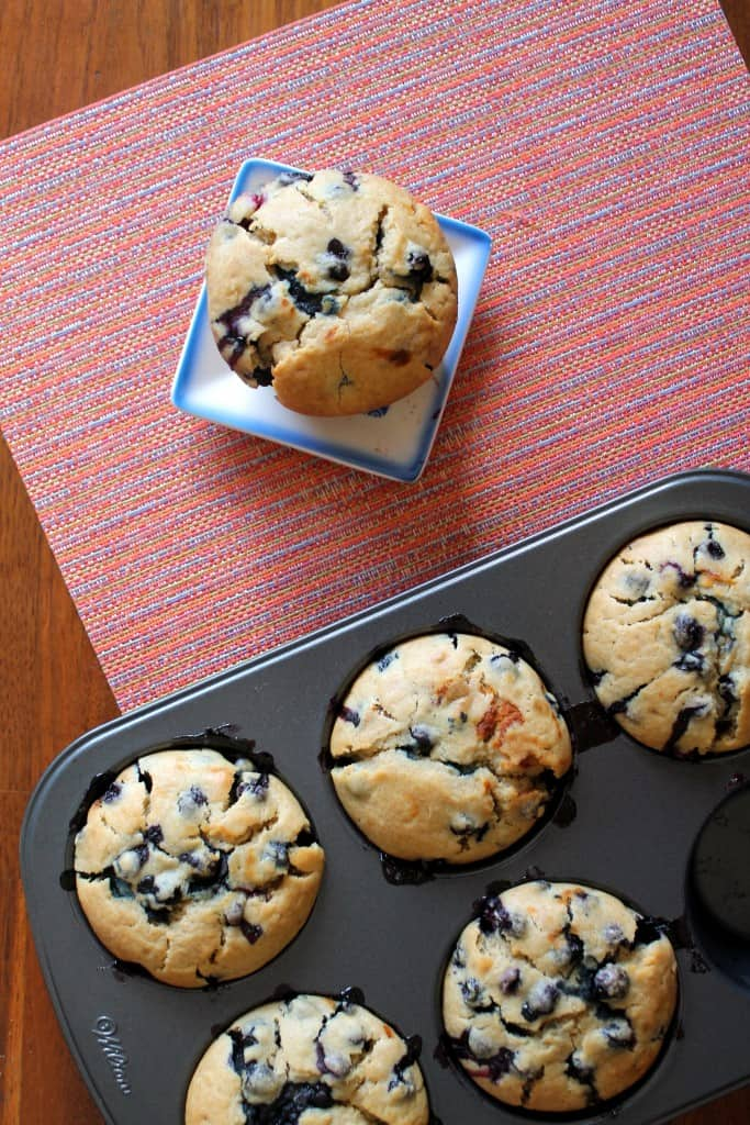 Sourdough Blueberry Muffins 3