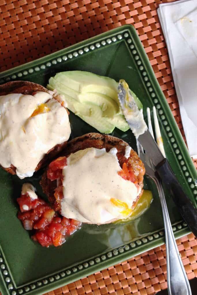 Mexican Eggs Benedict 2