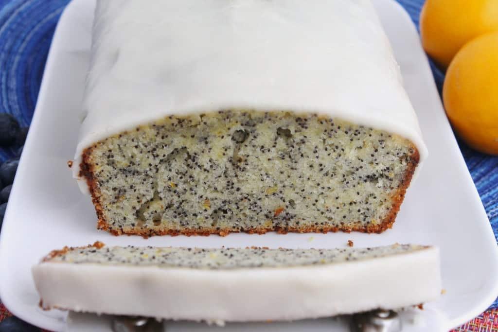 Meyer Lemon Poppy Seed Pound Cake | The Spiffy Cookie