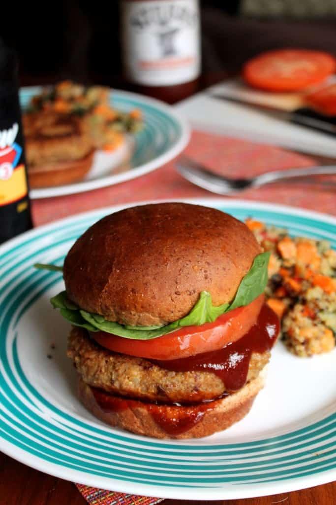 Smoky Chipotle Quinoa Burgers 2