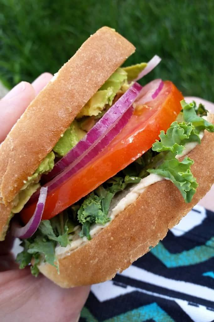 Super Veggie Sandwich   The Spiffy Cookie