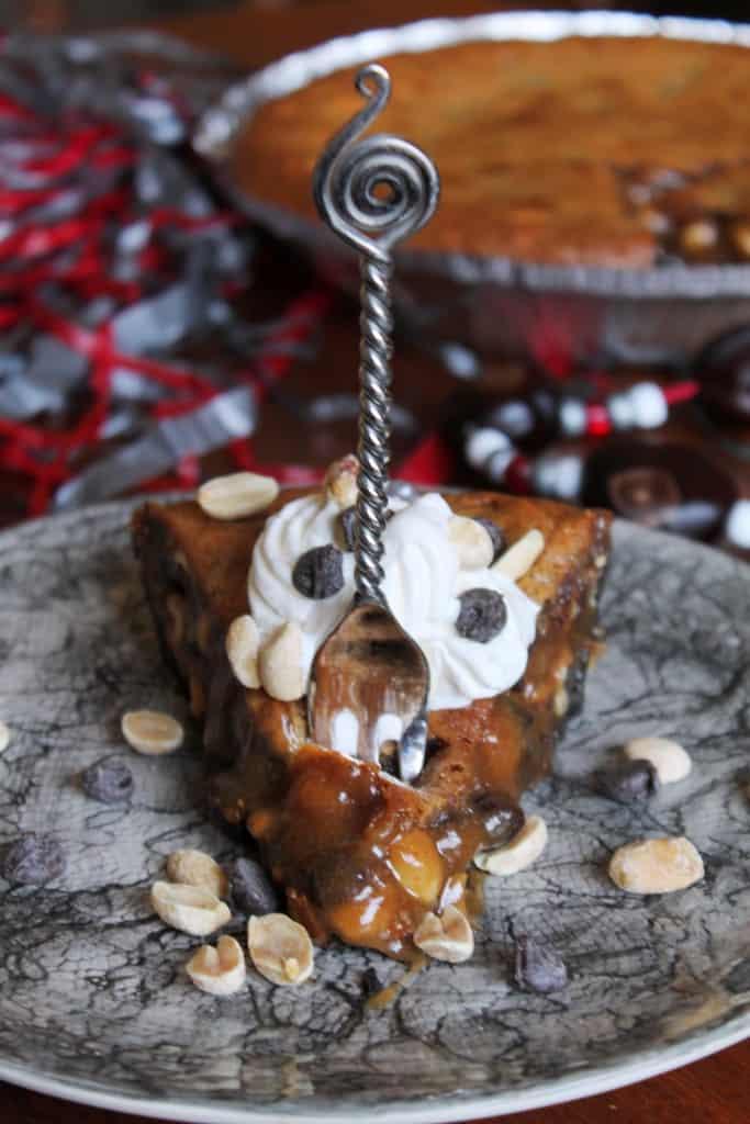 Chocolate Chip Peanut Pie 3
