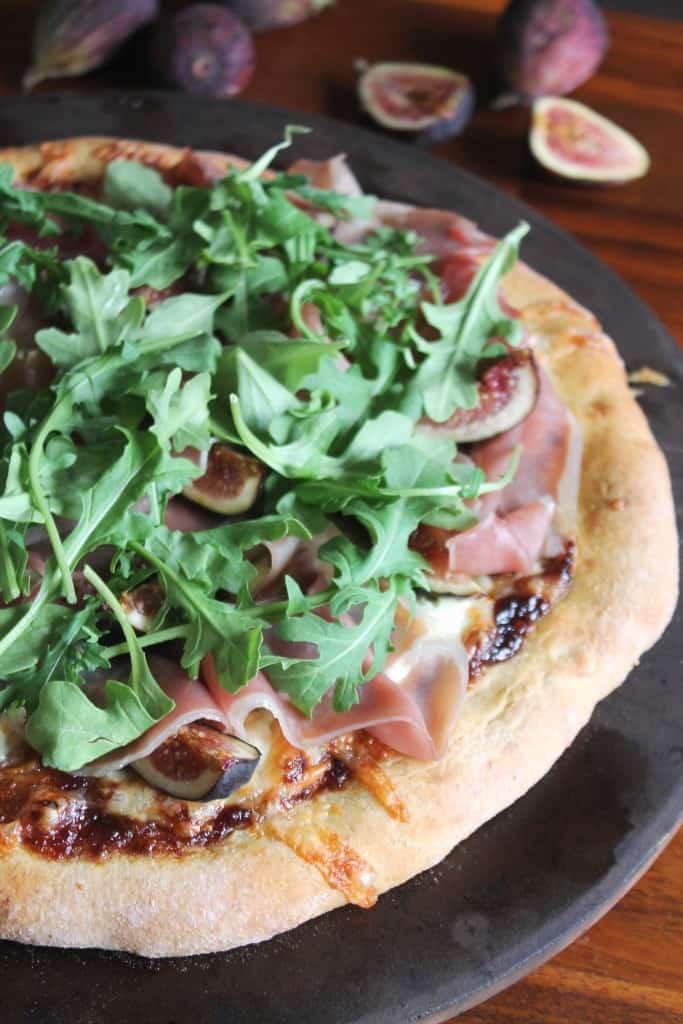 Fig, Prosciutto & Arugula Pizza 1