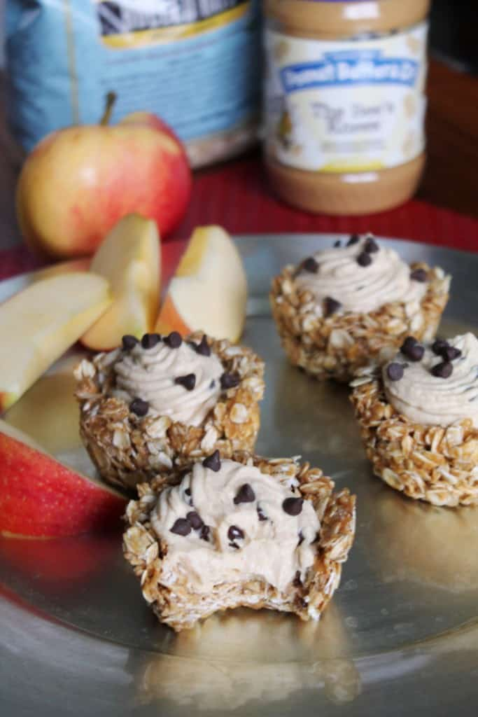 No Bake Peanut Butter Granola Cups The Spiffy Cookie