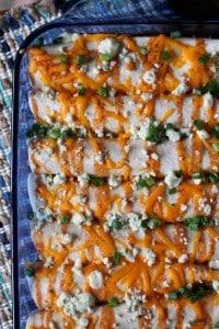 Buffalo Chicken Enchiladas 4